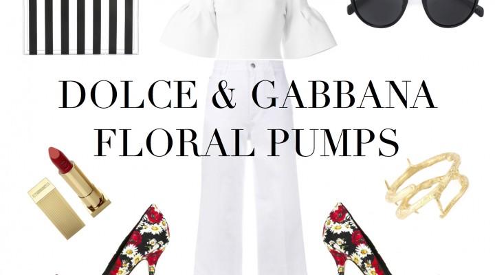 Dolce & Gabbana Floral Pumps