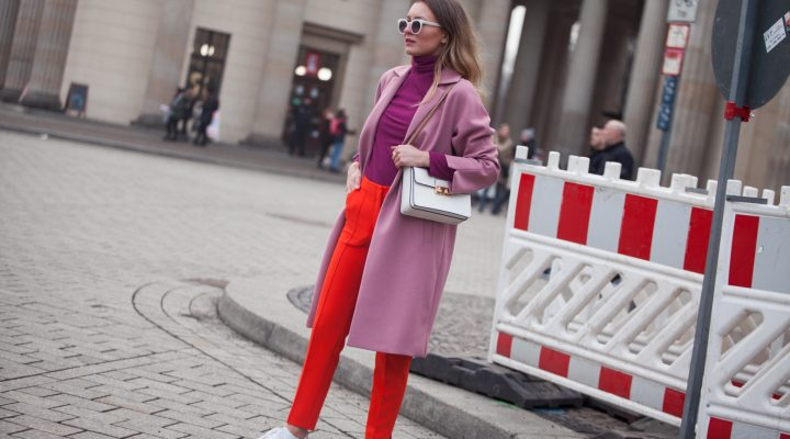 COLOR BLOCKING AT BERLIN FASHION WEEK