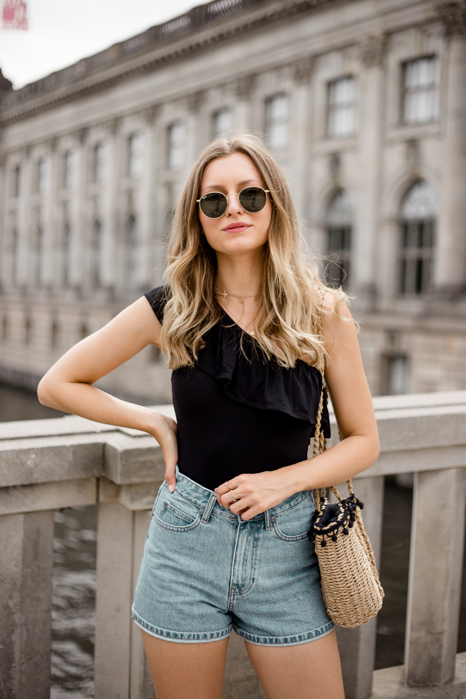 edited-frill-top-denim-shorts-livia-auer--5