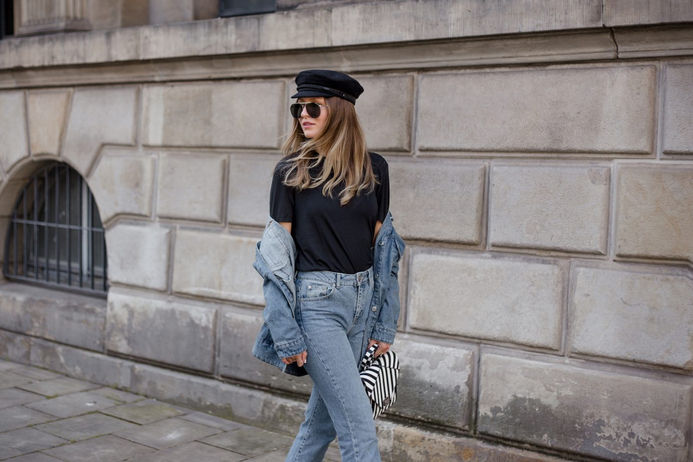 FIRST FALL LOOK WITH DENIM